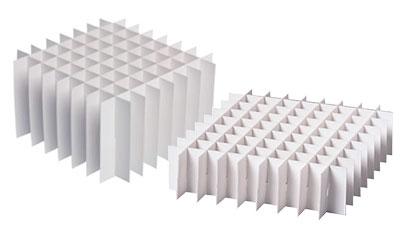 Rastereinsätze für Kryo-Boxen
