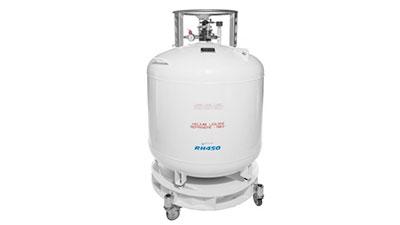 LHe  - Helium-Behälter flüssig