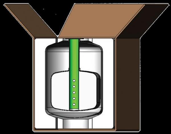 CryoCube - Trockenversand Box
