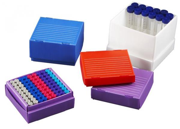 True North Rillierte Freezer Boxen (Flatpack Boxen)