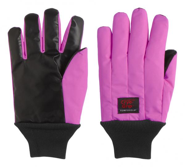 Pink Cryo-Grip Gloves handgelenklang