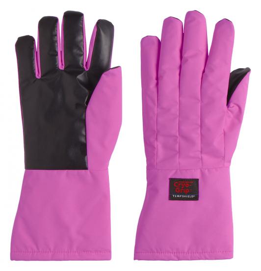 Pink Cryo-Grip Gloves unterarmlang