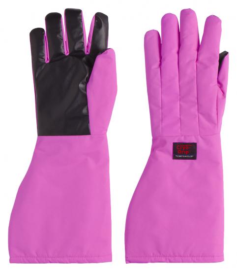 Pink Cryo-Grip Gloves ellbogenlang