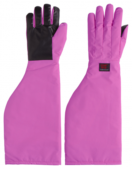 Pink Cryo-Grip Gloves schulterlang