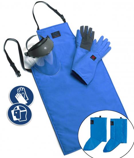 Cryo-Grip Schutz Set unterarmlang mit Gamaschen