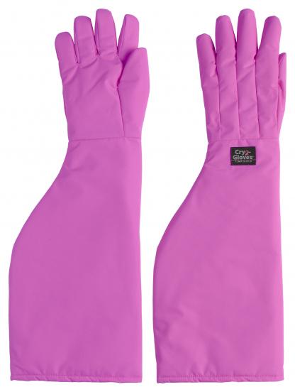 Pink Cryo-Gloves® schulterlang