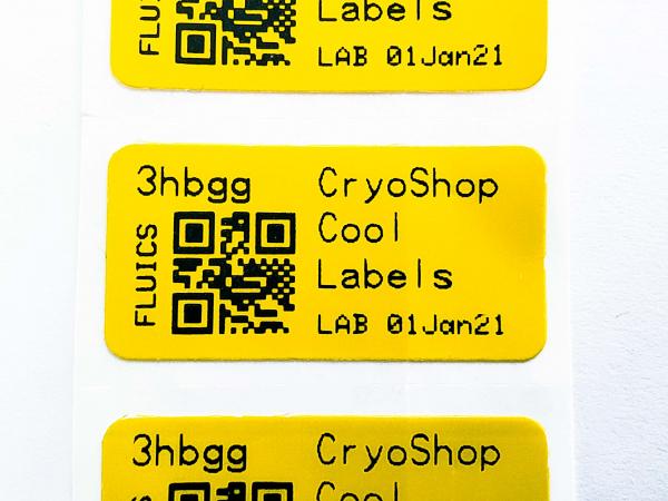 FLUICS CONNECT Etiketten