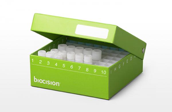 TruCool® Cryoboxes, 10x10-Raster