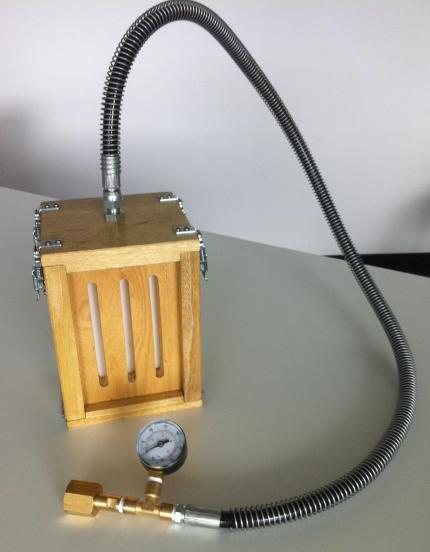 Trockeneis-Maschine
