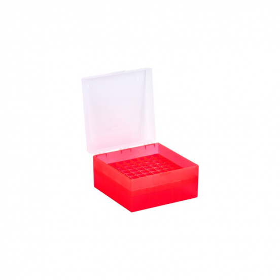 Cryo-Box mit 9x9 Raster
