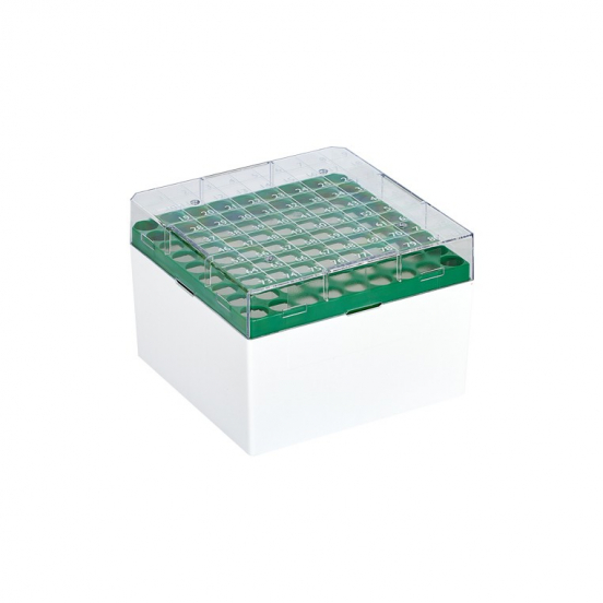Höhere Cryo-Box mit 9x9 Raster