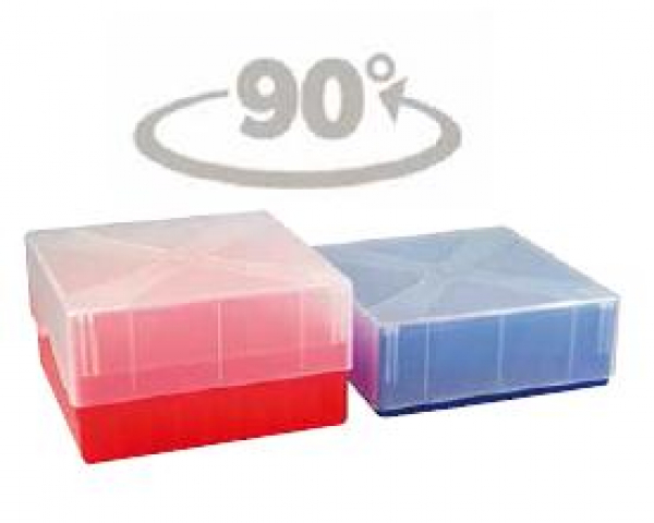 Cryo-Box mit Kombi-Deckel, 10x10 Raster